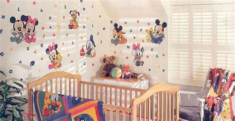 baby nursery decor mickey minnie mouse donald duck disney