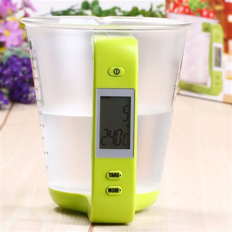 Timbangan Dapur 1kg 0 1g hostweigh teko takaran digital lcd display 600ml dengan