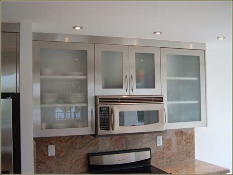 kitchen cabinets metal 20 beautiful kitchen cabinet designs with glass
