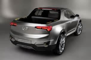 What Does Hyundai Hyundai S Santa Crossover Truck Concept Is A
