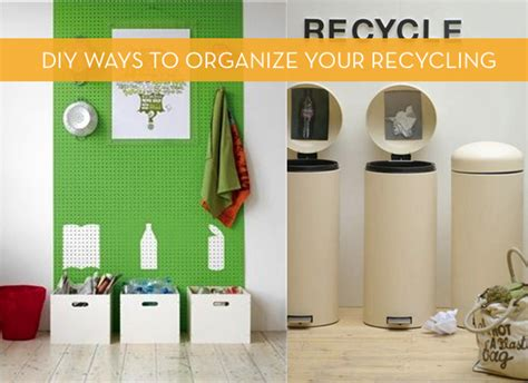 5 attractive diy ways to organize your recycling 187 curbly