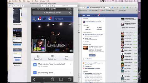 facebook  mobile phone  desktop version upload