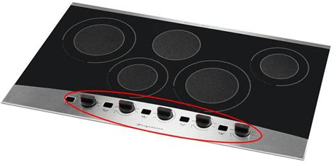 Electric Drop In Cooktop Frigidaire And Electrolux Icon Electric Smoothtop Cooktops