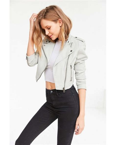 light grey moto jacket members only high low moto jacket in gray light grey