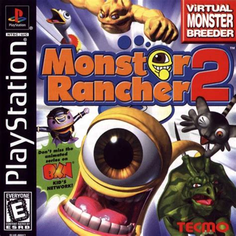 emuparadise jade cocoon monster rancher 2 ntsc u front cover
