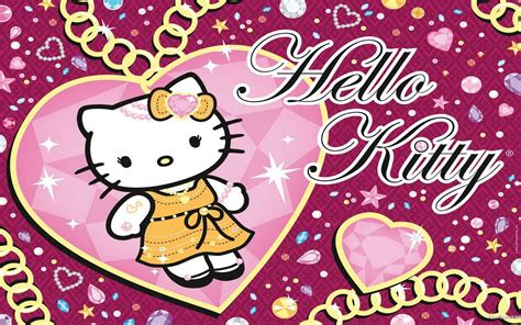 hello kitty wallpaper screensavers hello kitty computer wallpapers free wallpaper cave