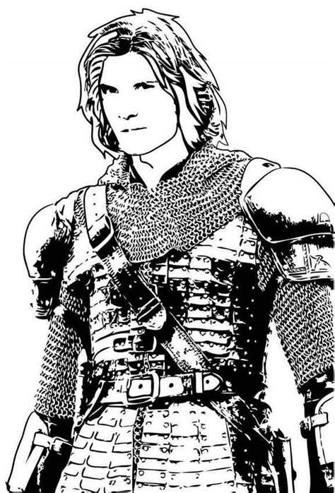 Prince caspian coloring pages - Hellokids.com