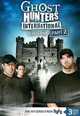 Kaos Ghost Hunters International 1 ghost hunters international season 1 part 2 14381646627 dvd barnes noble 174