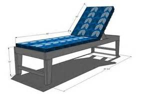 white build a outdoor chaise lounge free and easy