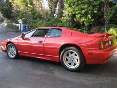 how to learn about cars 1989 lotus esprit seat position control find used 9 239 original miles 1989 lotus esprit se turbo in el sobrante california united