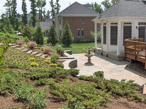 backyard slope landscaping backyard slope terraced slopes pinterest