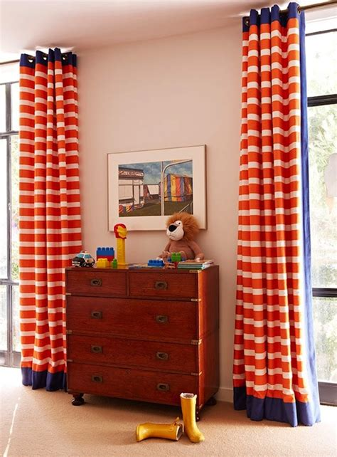 curtains for boys bedrooms orange curtains traditional boy s room anne hepfer