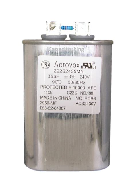 hps capacitor aerovox lighting capacitor 35uf 240 volt high pressure