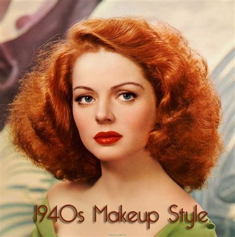 hair and makeup utah county 1940s makeup looks red hair 1940 s pinterest 1940s