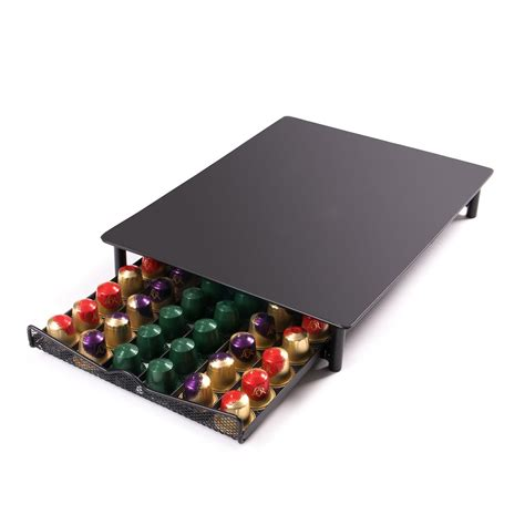 nespresso capsule drawer uk nespresso coffee pod drawer 60pc capsules holder