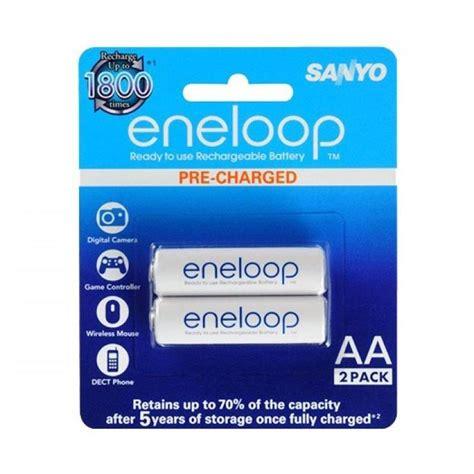 Baterai Eneloop Sanyo jual sanyo eneloop aa baterai 2 pcs 2000 mah