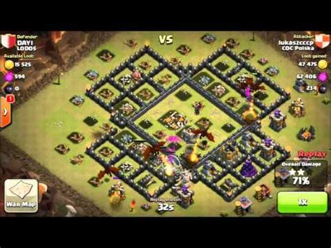 gambar base coc unik th 8 gameonlineflash