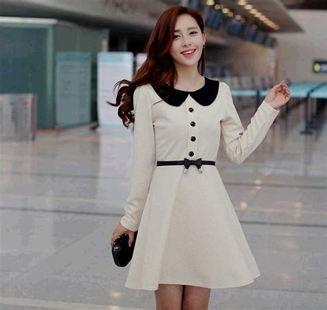 Jfashion Korean Style Bodycon Dress Quinn korean style dresses naf dresses
