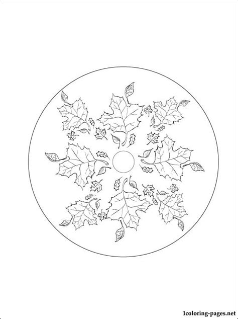 autumn mandala coloring pages autumn mandala coloring page coloring pages