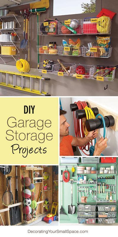 diy garage storage projects ideas home decorating