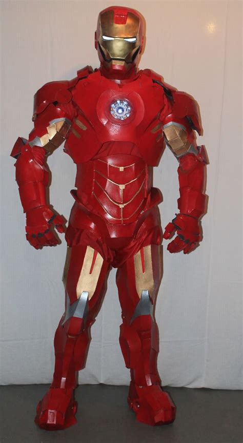 iron man costume steps pictures