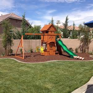 playground set for backyard 25 best ideas about backyard playground on