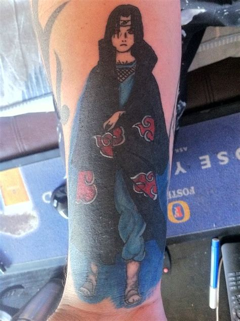 uchiha itachi tattoo by dontbelong on deviantart