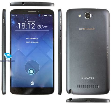 android phablet review of android phablet alcatel 2 8030y wovow