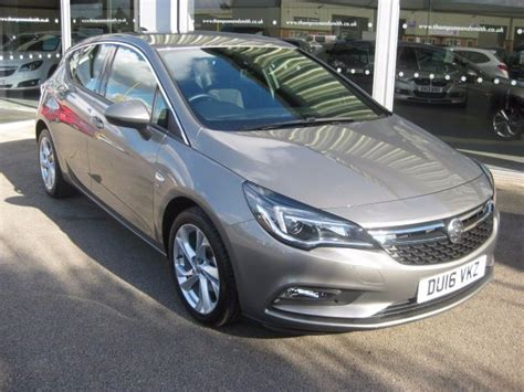 vauxhall grey used granite grey metallic vauxhall astra for sale