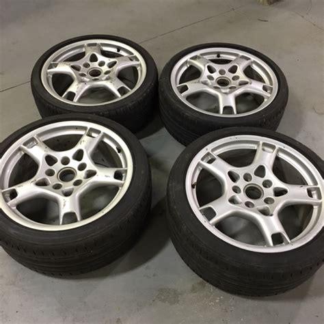 19 quot porsche oem lobster fork wheels w tires for sale