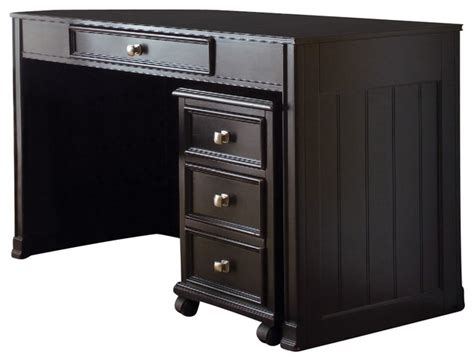 drew camden desk drew camden desk in black traditional