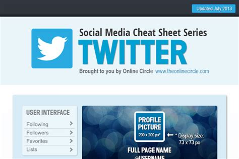 twitter layout explained twitter background image and profile picture dimensions