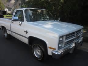 86 chevy shortbed c10 silverado 1 owner 86k ac