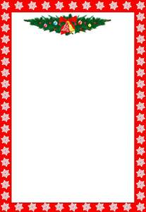 Christmas card border best template collection black floral frame
