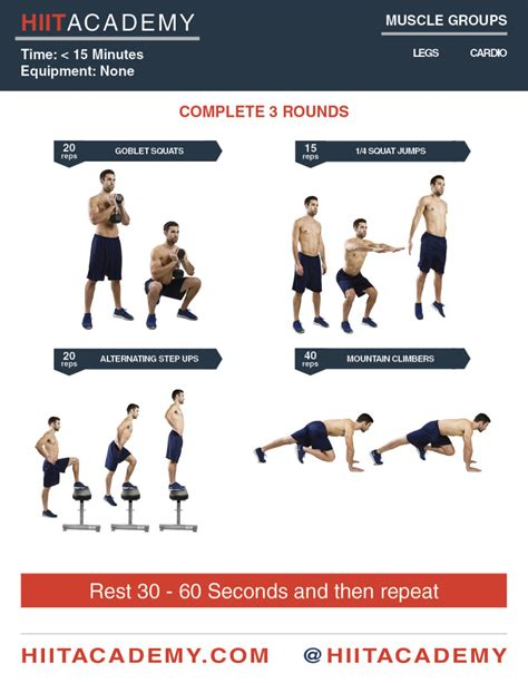 leg day hiit workout hiit academy hiit