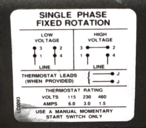 hello ive got a baldor 1hp single phase 110 or 208 230