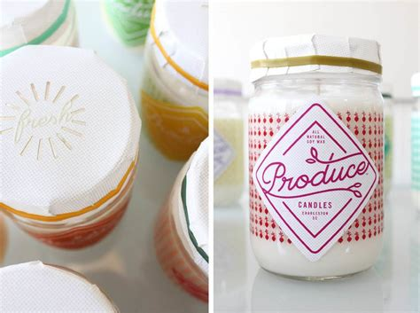 candele design produce candles the dieline package design resource