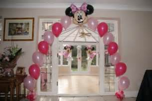 minnie mouse balloon decorations minnie mouse 1st