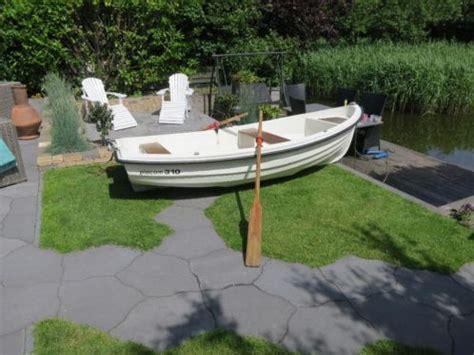 overnaadse roeiboot sloepje placom 310 overnaads polyester roeiboot met bb