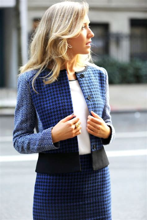 Jumpsuit By Ayou Azzura wear the trendy tweed suit