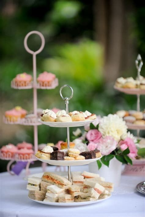 High Tea Bridal Shower by High Tea Bridal Shower Food Beverage Ideas