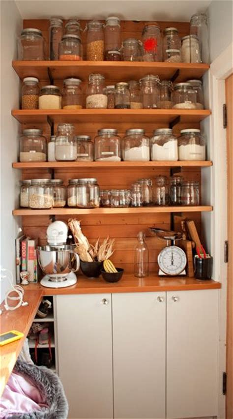 Jar Pantry by Kitchen Tour Lupine Dan S Joyful Organized Kitchen