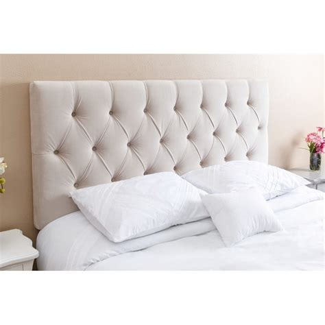Ivory Tufted Headboard by Abbyson Living Dakota Tufted Headboard In Ivory