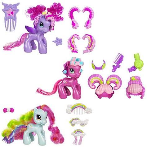 Styling Figure My Pony Set my pony hair play ponies wave 1 set hasbro my