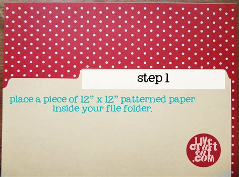 How To Make A Paper File Folder At Home - decorative file folders how to line a file folder live
