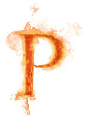 psd detail burning letter quot p quot official psds p is