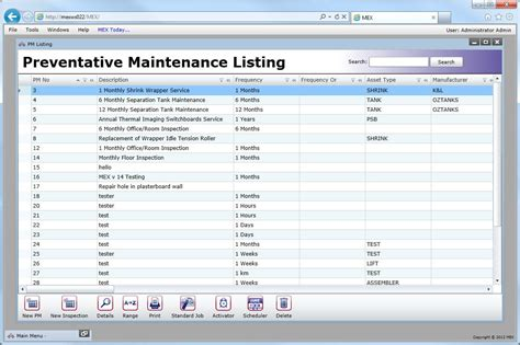 vehicle maintenance schedule templates 9 free word excel pdf