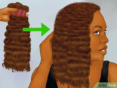how to control afro style hair 7 steps with pictures afroamerikanisches haar frisieren wikihow