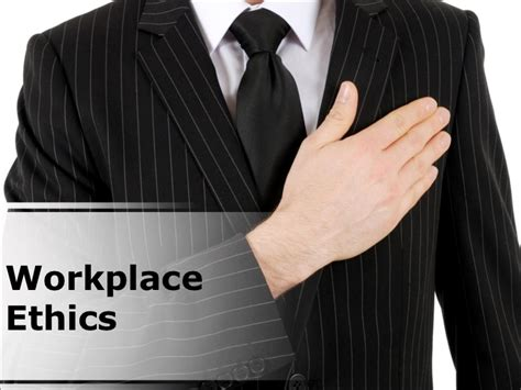 workplace ethics powerpoint presentation