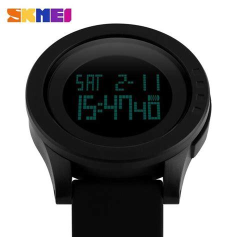 Jam Pria Dg 3 skmei jam tangan digital pria dg1142 black